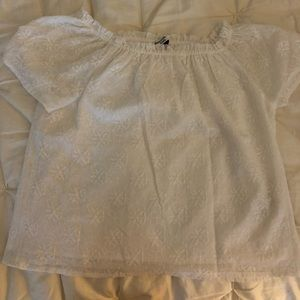 Abercrombie kids off the shoulder top!